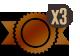 icono bronce x3